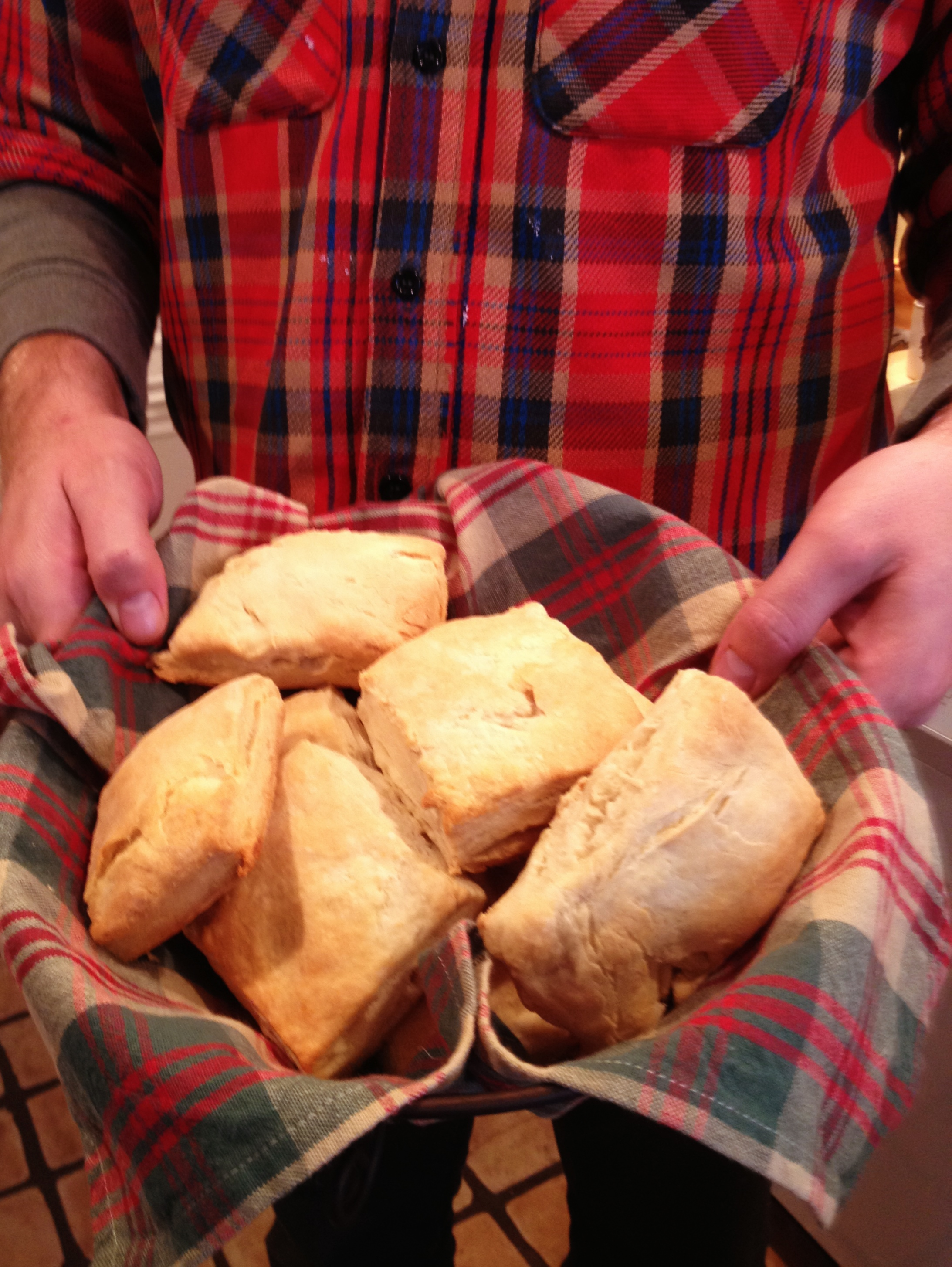 guest recipe post: rustic buttermilk biscuits.