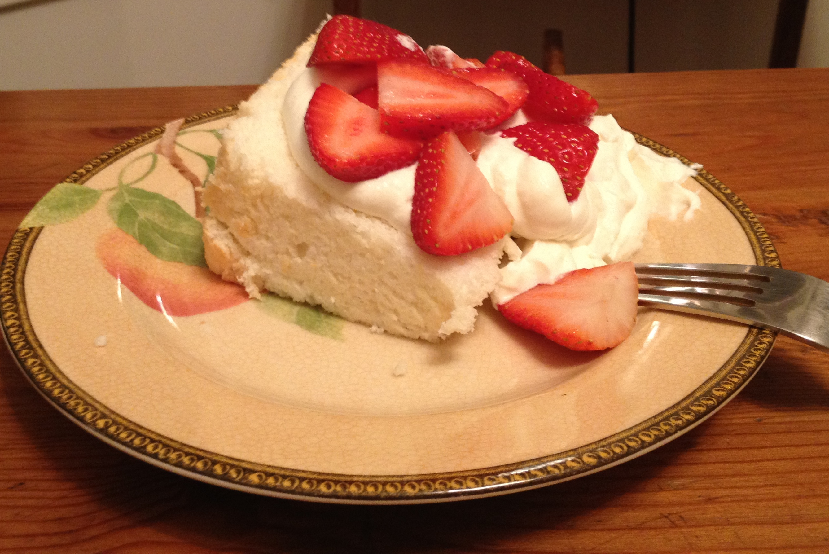 angel-food cake.
