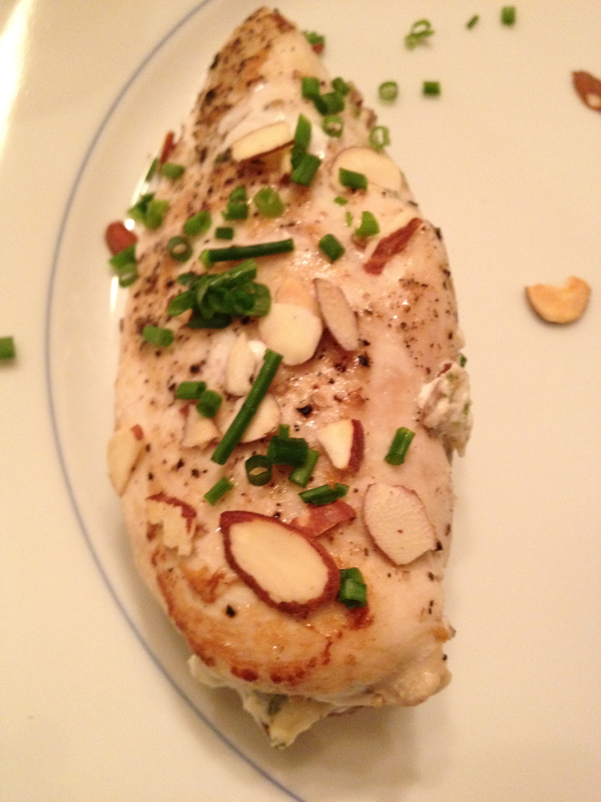 Almond-Stuffed Chicken Breasts