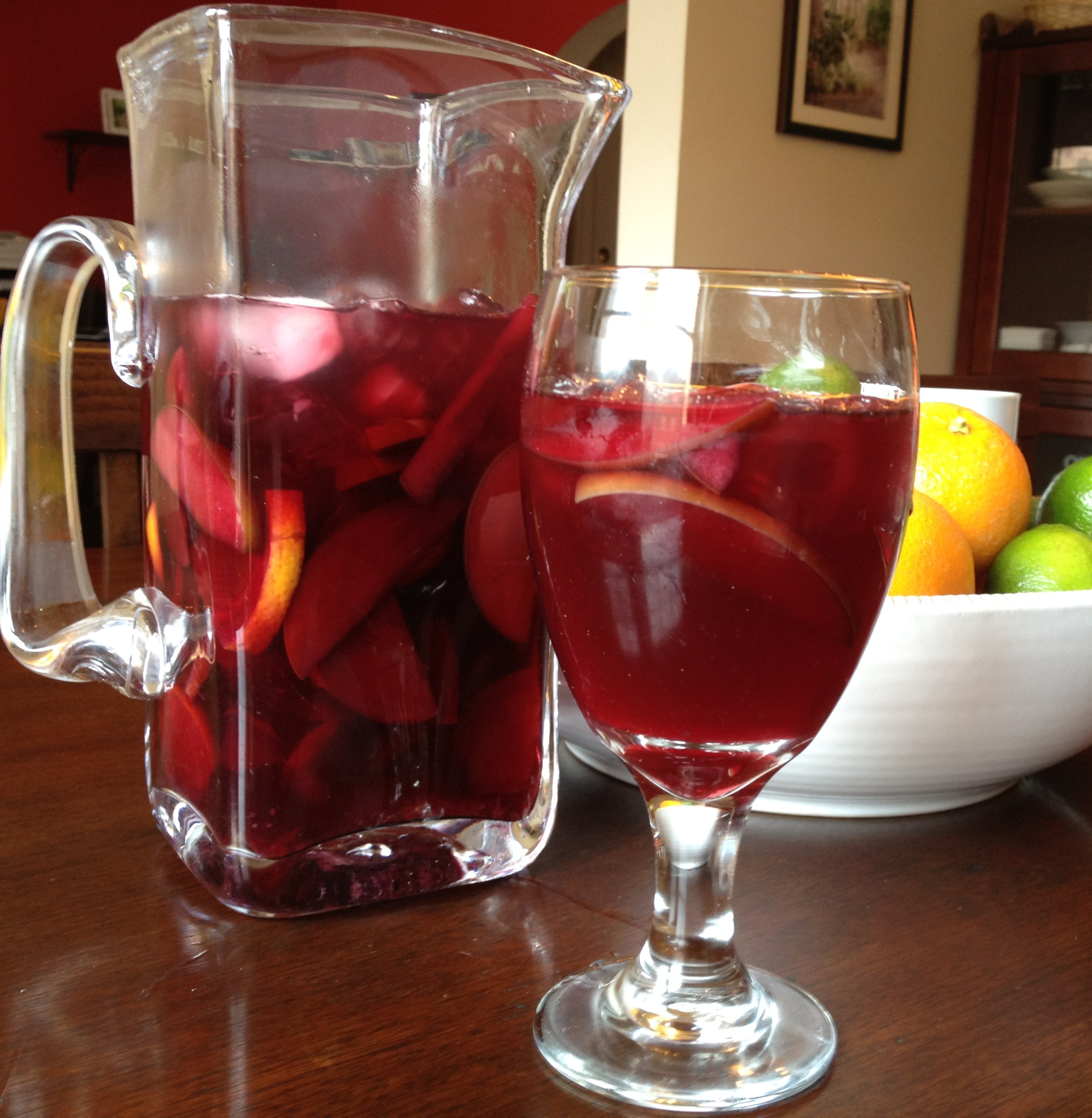 simple & slim sangria.