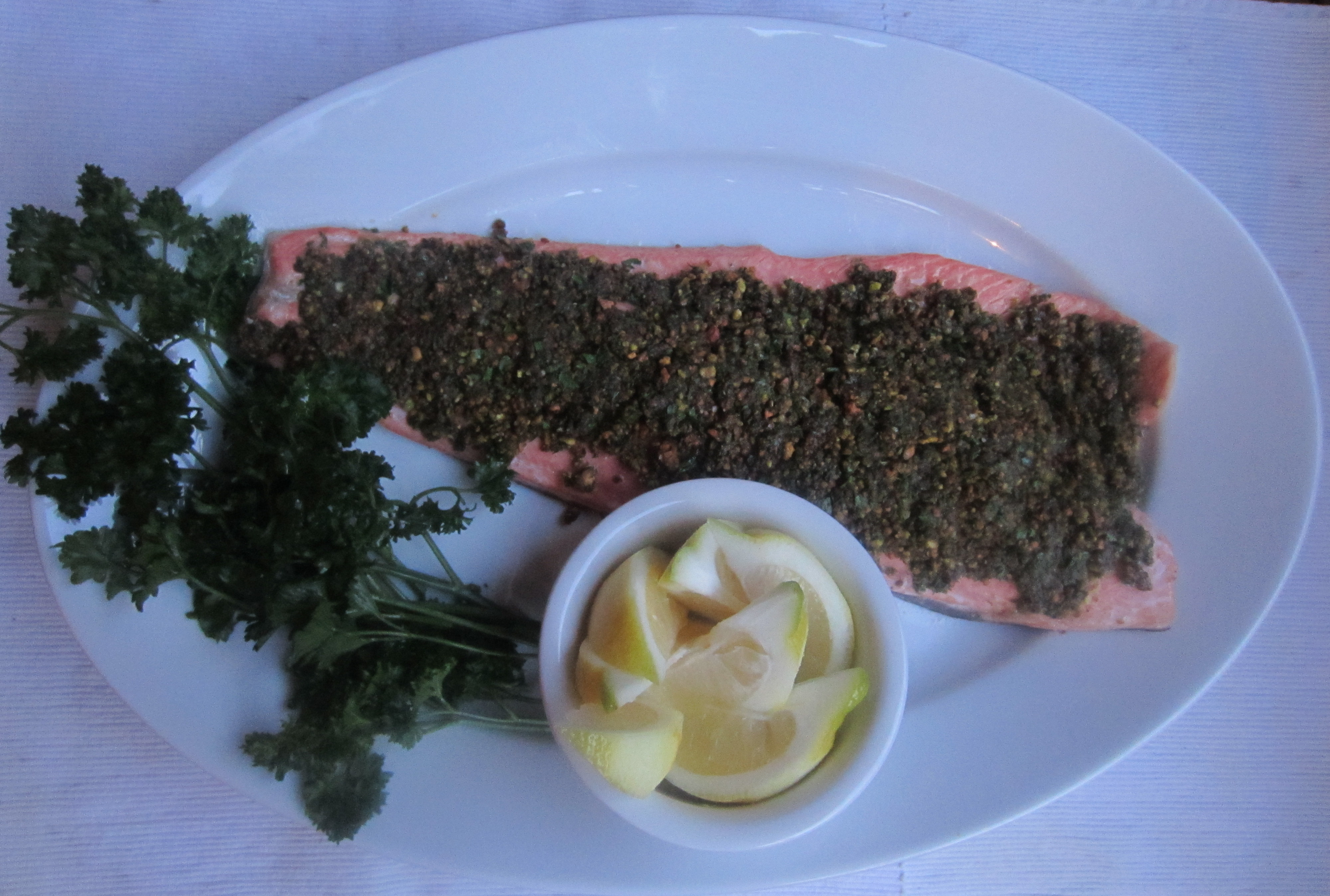 Pistachio-Crusted Salmon