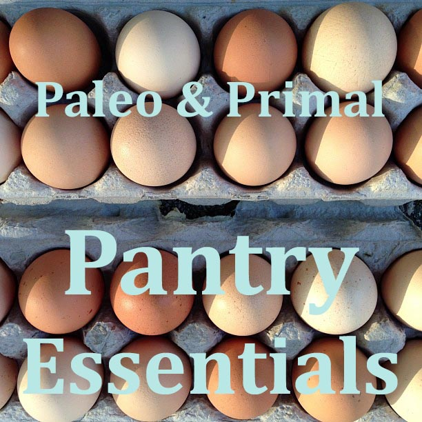 Paleo Pantry Essentials from Peaches and Cake