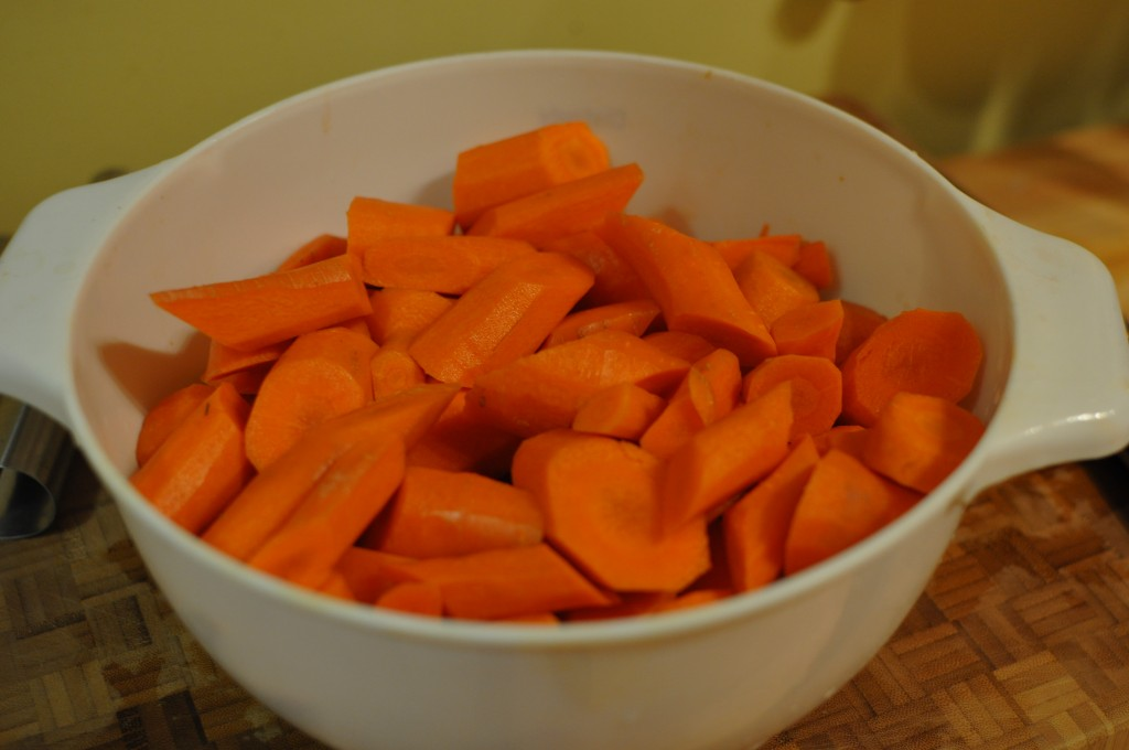 Casablanca Carrots from #wellfed2