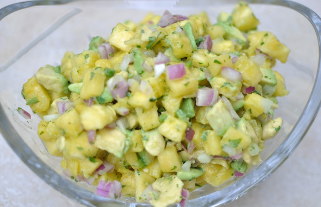 Avocado Pineapple Salsa 1
