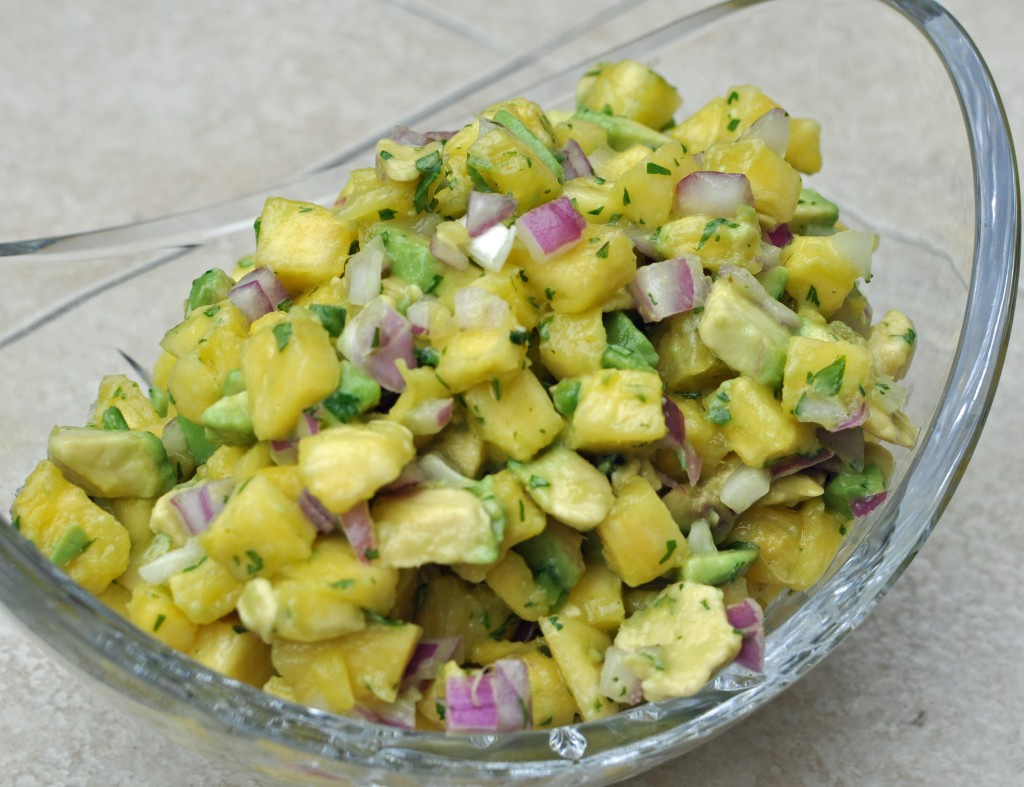 Avocado Pineapple Salsa 2