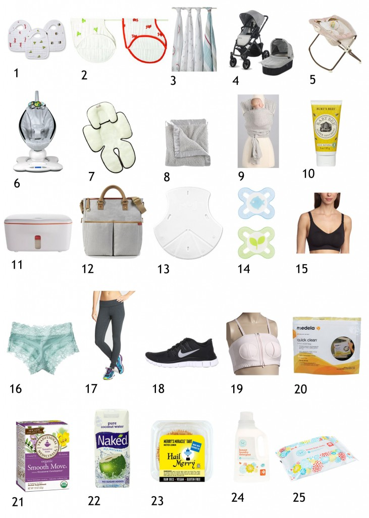 Top 25 New Mom and Baby Essentials from meganopel.com