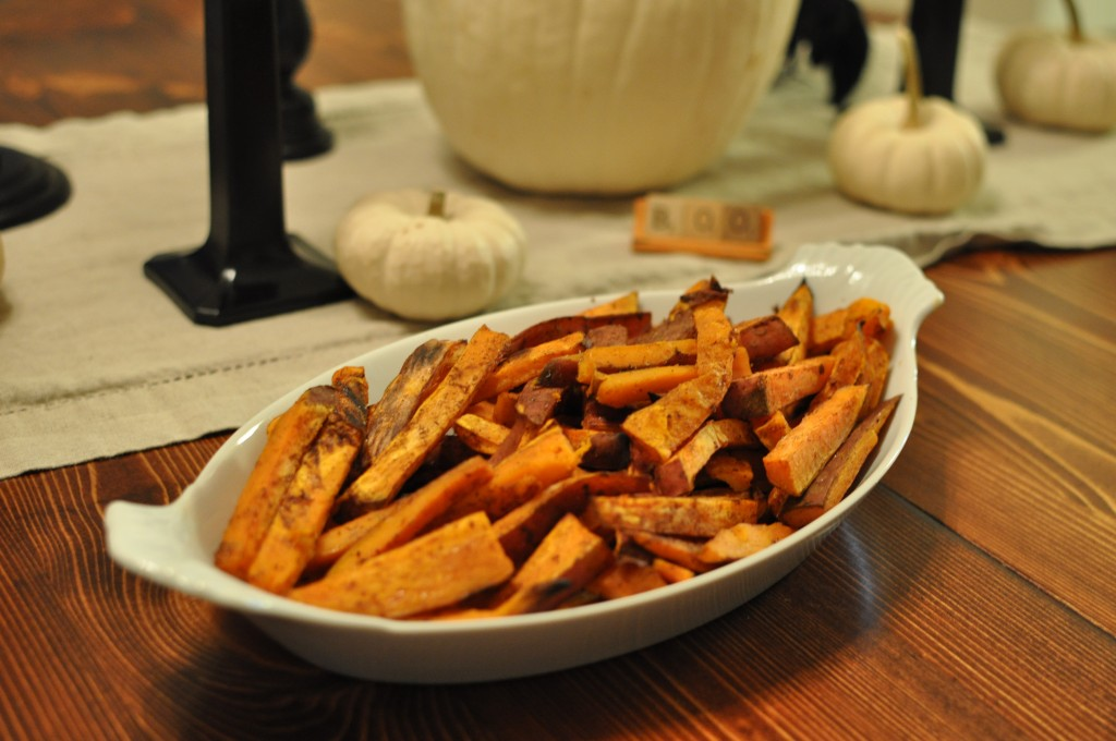 Sweet and Sassy Sweet Potato Fries