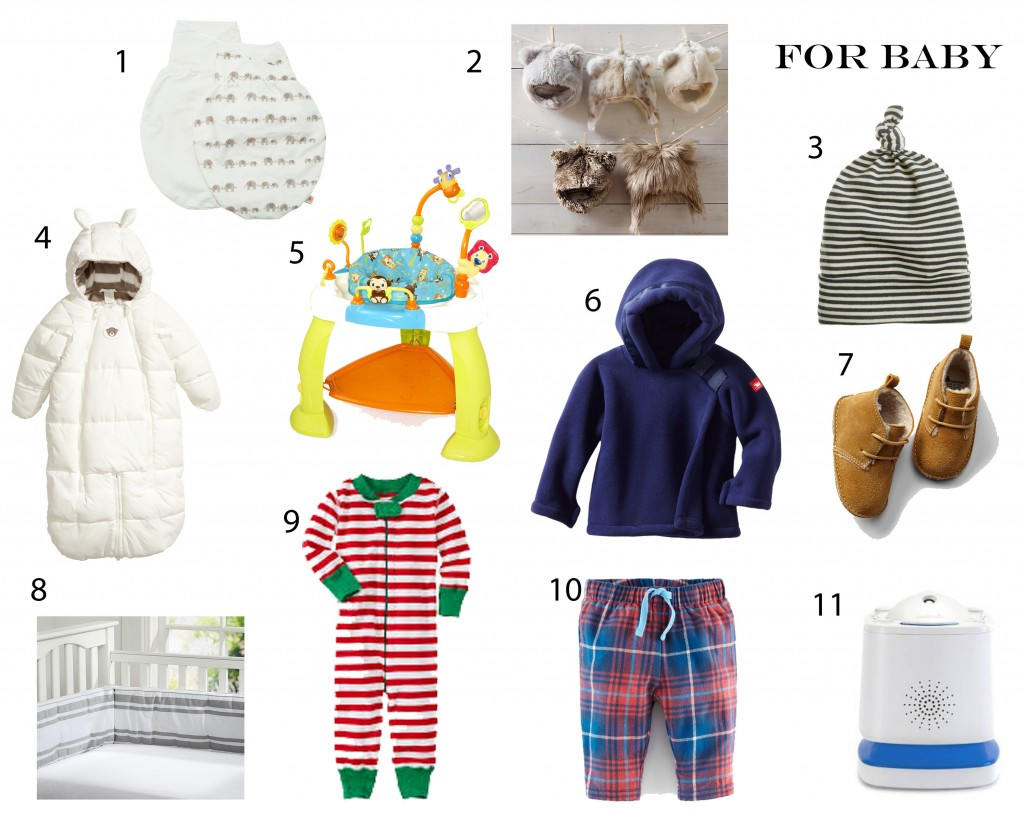 Holiday Gift Guide for Baby from Peaches and Cake