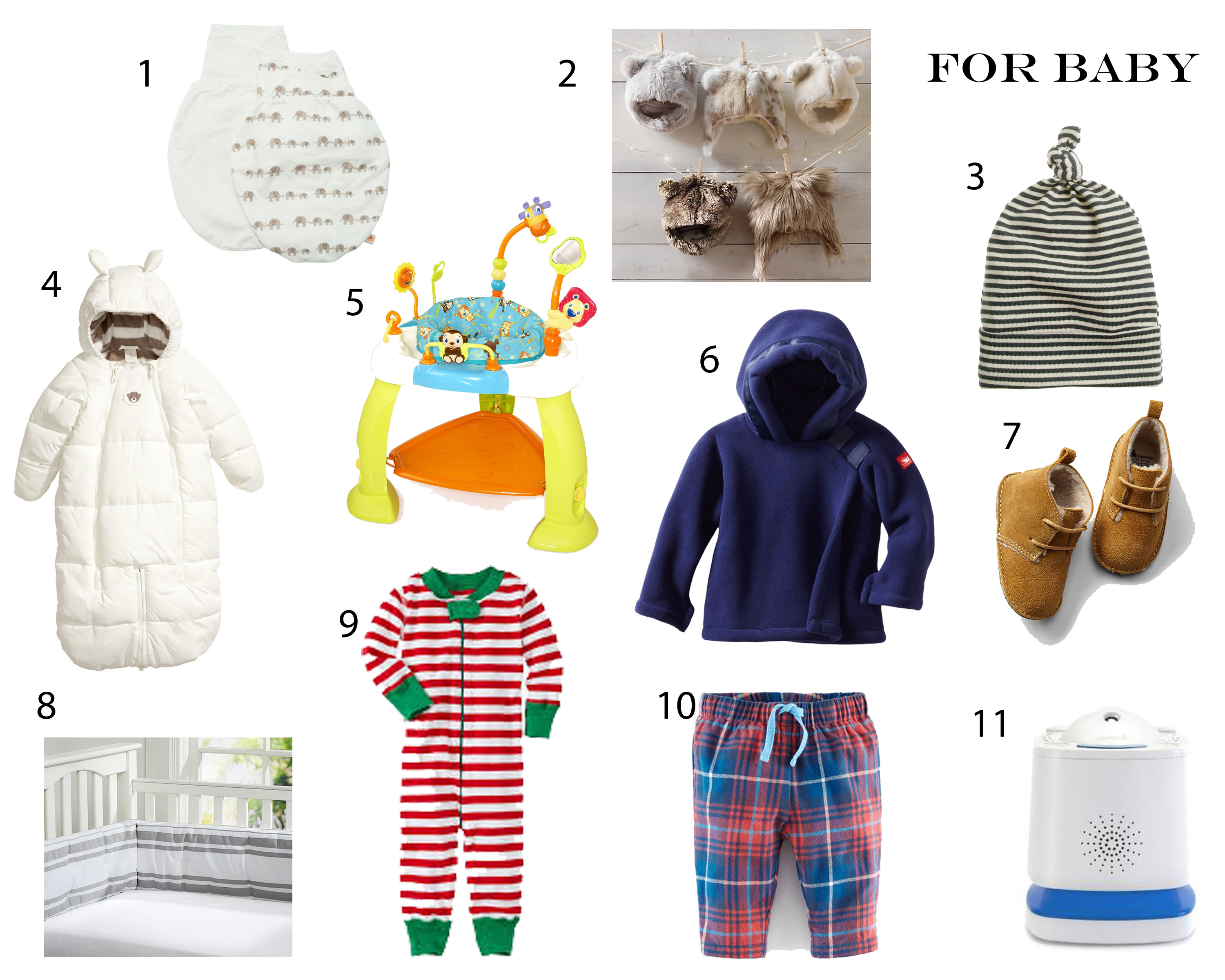 Holiday Gift Guide: For Baby
