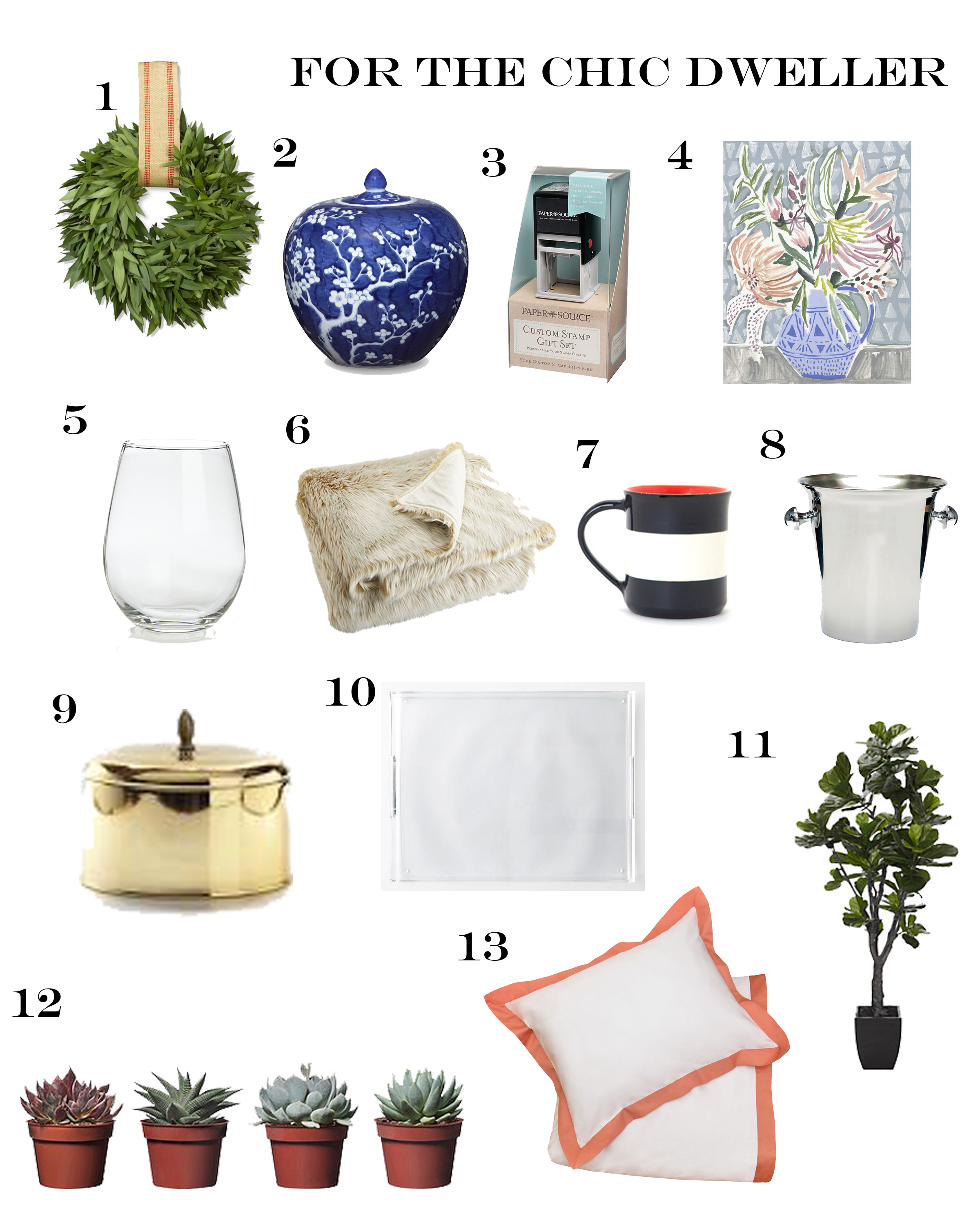 Holiday Gift Guide: for the Chic Dweller
