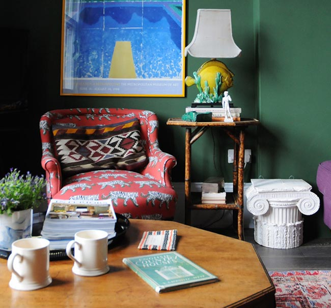 Design Sponge emerald room