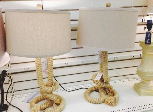 homegoods rope lamp