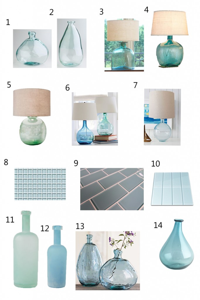 Design Obsession: Blue Glass