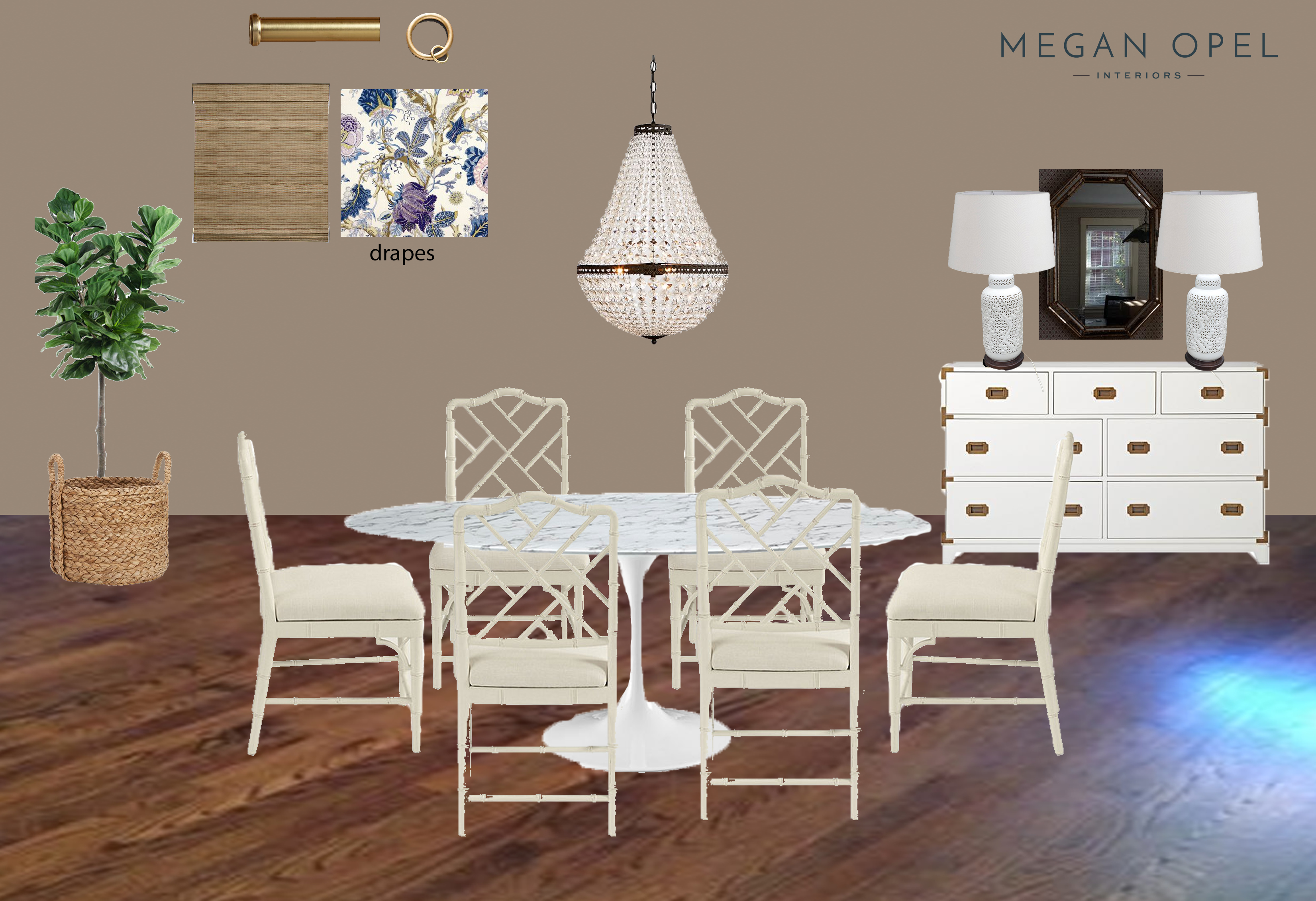 traditional-modern-dining-room-with-chippendale-chairs-edesign