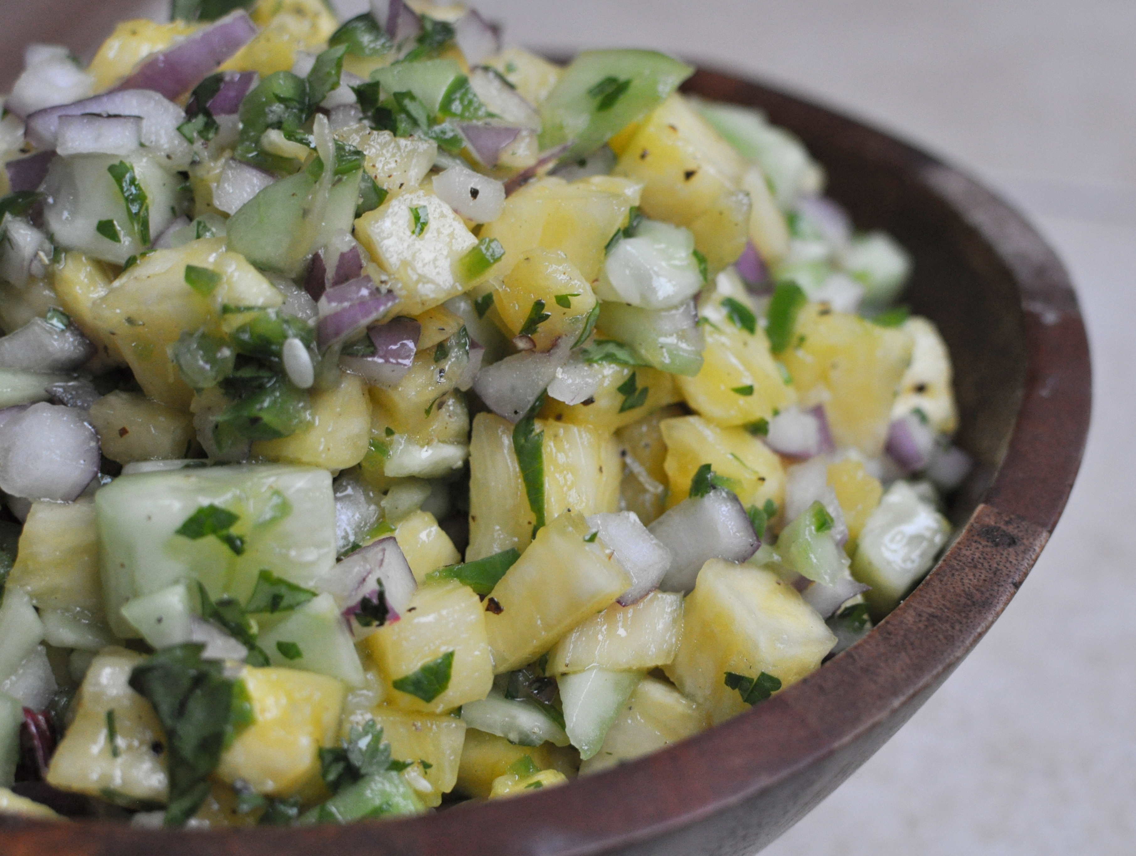Spicy Pineapple Salsa from Michelle Tam {Nom Nom Paleo: Food for Humans Review}